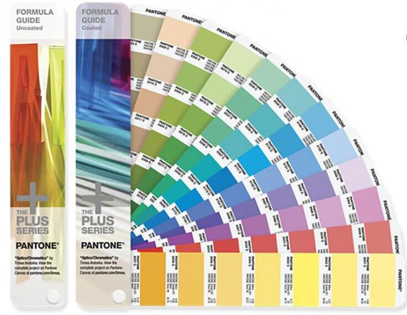 2014 Version Pantone Color Card CU 2 in 1 set