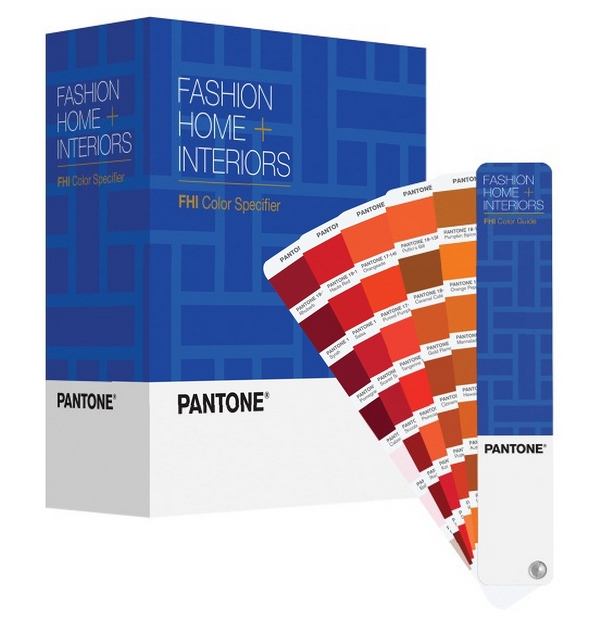 2015 Edition Pantone colors on paper for fashion accessories