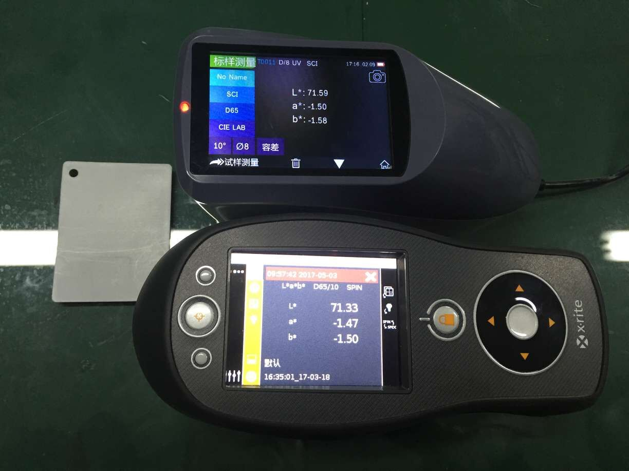YS3060 Spectrophotometer compared to X-rite CI64 s