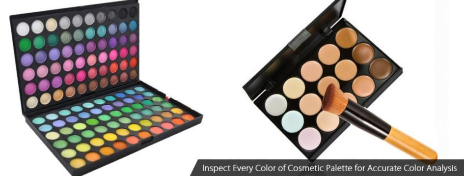 Inspect Every Color of Cosmetic Palette for Accurate Color A