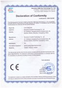 YS series spectrophotometer have received the CE certificati